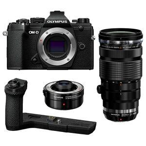 Olympus OM-D E-M5 Mark III Svart Fågelfoto-Paket Premium