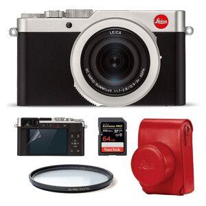 Leica D-Lux 7 Startpaket (Röd väska)