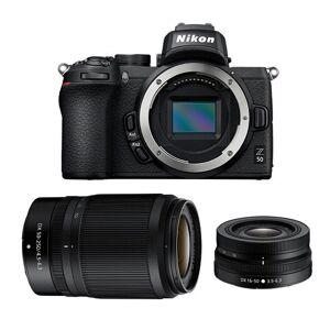 Nikon Z50 + 16-50/3,5-6,3 + 50-250