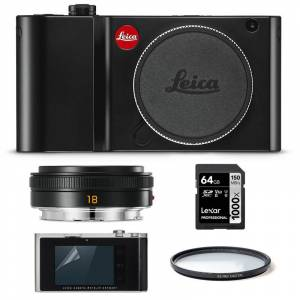 Leica TL2 Svart Startpaket