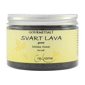 Crearome Grovkornigt Gourmetsalt Svart lava, 100 g