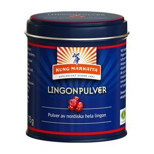 Kung Markatta Lingonpulver, 75 g