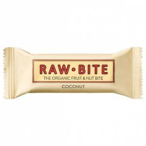 Rawbite Ekologisk Frukt- & Nötbar Kokos, 50 g