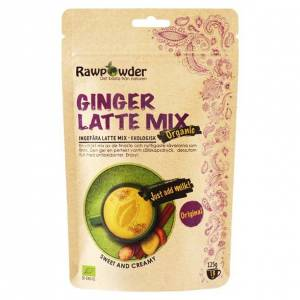 Rawpowder Ekologisk Lattemix Ingefära, 125 g