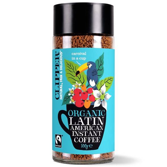 Clipper Organic Latin American Instant Coffee, 100 g