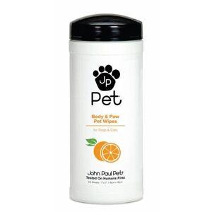 John Paul Pet Body & Paw Pet Wipes With Orange Oil