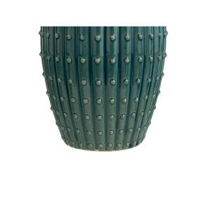Beliani Blomvas 33 cm blå/grön DELFIA