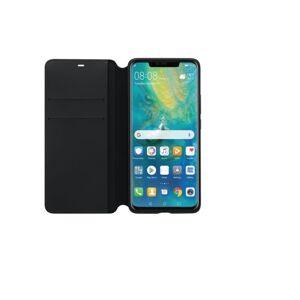 Huawei Mate 20 Pro, PU Wallet, Svart