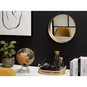 Beliani Spegel 40 cm koppar PINEY