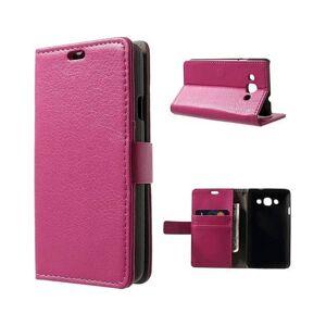CaseOnline Mobilplånbok 2-kort LG L60 (X140) Rosa