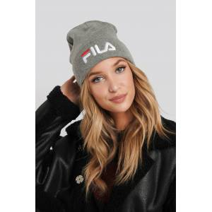 FILA Slouchy Beanie Leniar Logo - Grey