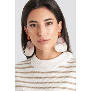 MANGO Akili Earrings - Red,Multicolor