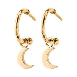 Edblad Bright Night Earrings Moon