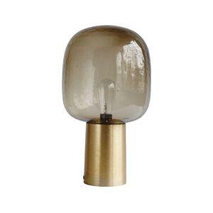House Doctor Lampa Note, 28x52 cm, grå/mässing