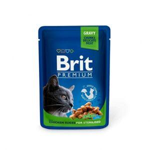 Brit Premium Portionspåsar Med Kyckling För Steriliserade Katter