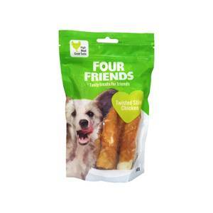 FourFriends Twisted Stick Chicken 12,5 cm 40 pack (4 pack)
