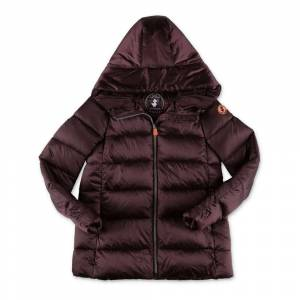 Save The Duck down jacket with hood