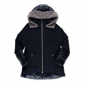 Herno Nylon down jacket with hood