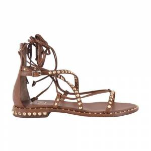 Ash Flat sandals with studs and zip