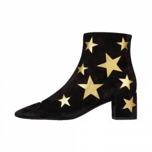 Saint Laurent Star leather ankle boots