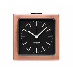 LEFF amsterdam Väckarklocka - LEFF Block Copper Black Index
