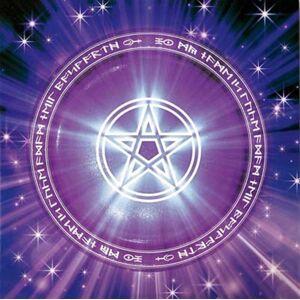 Regnbågsvävar Pagan Card 1