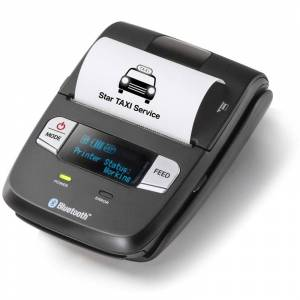 Mobil kvittoskrivare, Trådlös, iZettle-kompatibel, Batteridriven, Bluetooth, USB, Star SM-L200