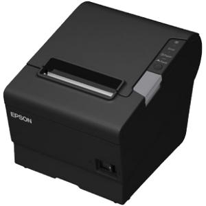 Kvittoskrivare, USB, Seriell, LAN, WiFi, Epson TM-T88V