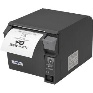 Kvittoskrivare, Placering under  bänk, USB, Seriell, LAN, WiFi, Epson TM-T70II
