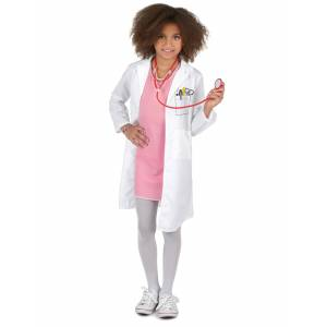 Vegaoo.se Doktorsdräkt barn - 110 - 120 cm S (4 - 6 år)