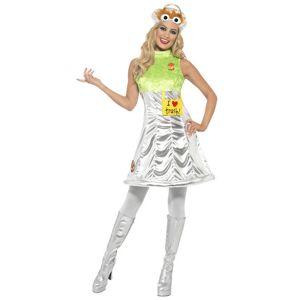 Vegaoo.se Oscar från Sesame Street - Maskeraddräkt för vuxna - XS