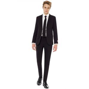 Vegaoo.se Mr Black - Kostym för tonåringar från Opposuits - 46-152 cm (12 - 14 år)