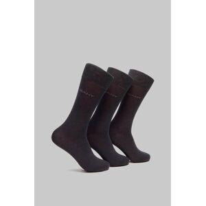 Gant Strumpor 3-pack Mercerized Cotton Socks Grå