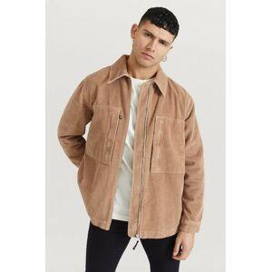 Wood Wood Overshirt Gale Jacket Brun