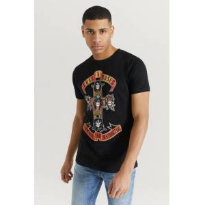 Rock Off T-shirt Guns N' Roses Tee Svart