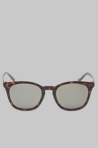 Le Specs Solglasögon Fine Specimen Matte Tort / Khaki Mono Lens Brun  Male Brun