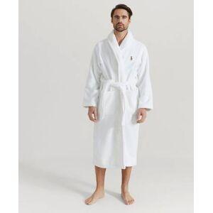 Polo Ralph Lauren Morgonrock Classic Robe Vit