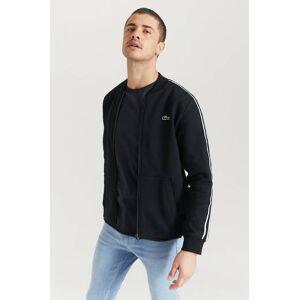 Lacoste Ziptröja Tape Zip Sweater Svart