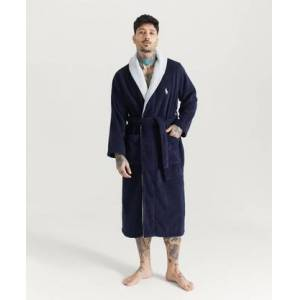 Polo Ralph Lauren Morgonrock Big Logo Robe Blå