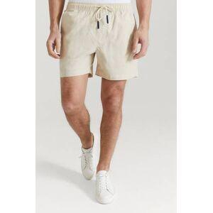 Oas Shorts Beige Linen Shorts Natur