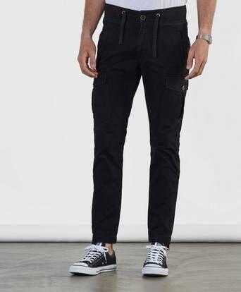 Adrian Hammond Hogan Cargo Trousers Svart