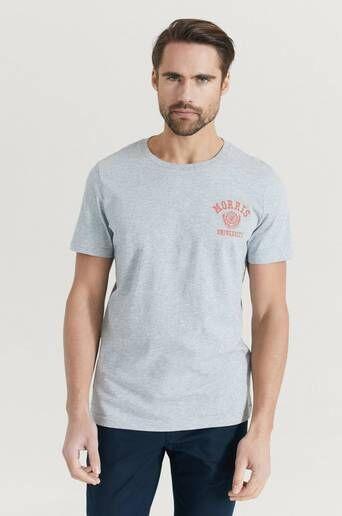 Morris T-shirt Corby Tee Grå