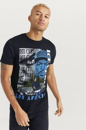Rock Off T-shirt Ice Cube Tee Svart
