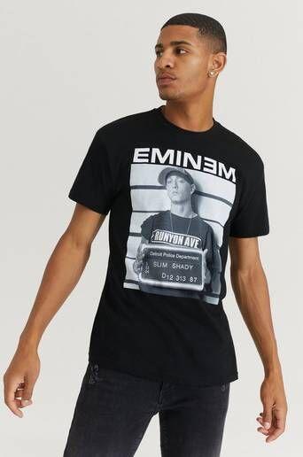 Rock Off T-Shirt Eminem Tee Svart