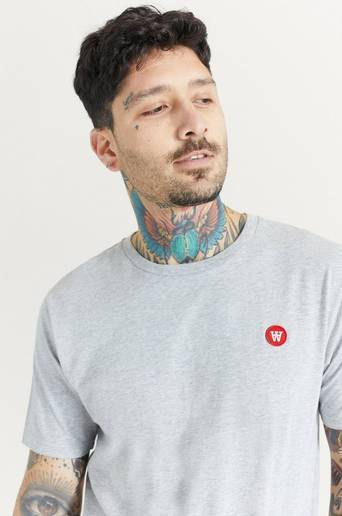 Wood Wood T-Shirt Ace T-Shirt Grå