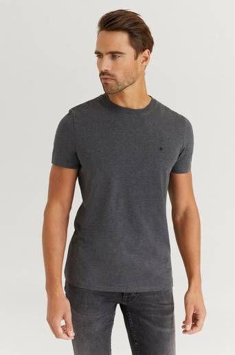 Morris T-Shirt James Tee Grå