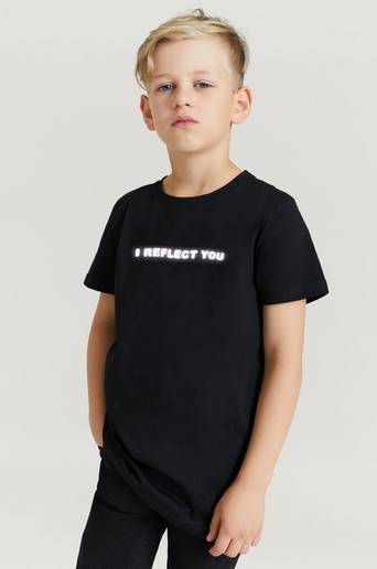 Stayhard Mini T-Shirt With Print Svart  Male Svart