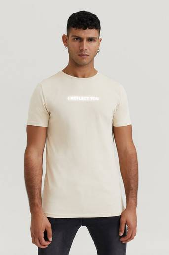 Stayhard Mini T-Shirt With Print Beige  Male Beige