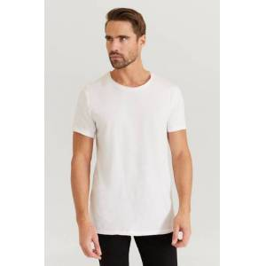 Bread & Boxers T-Shirt Crew Neck Relaxed Tee Vit