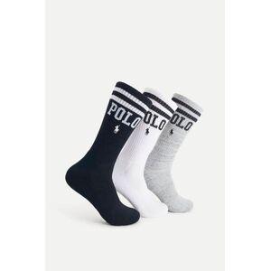 Polo Ralph Lauren Strumpor 3-pack Sport Sock Multi